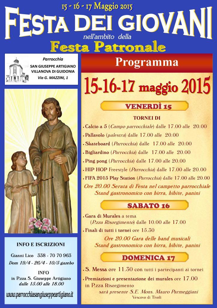Festa giovani 2015