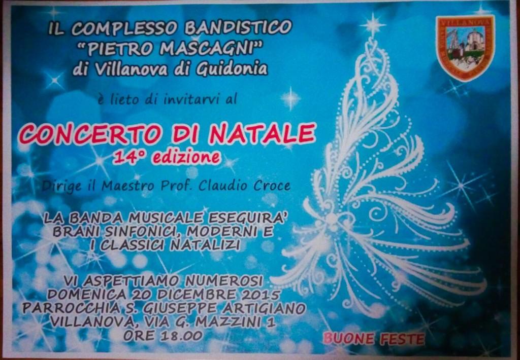 Concerto Banda 2015