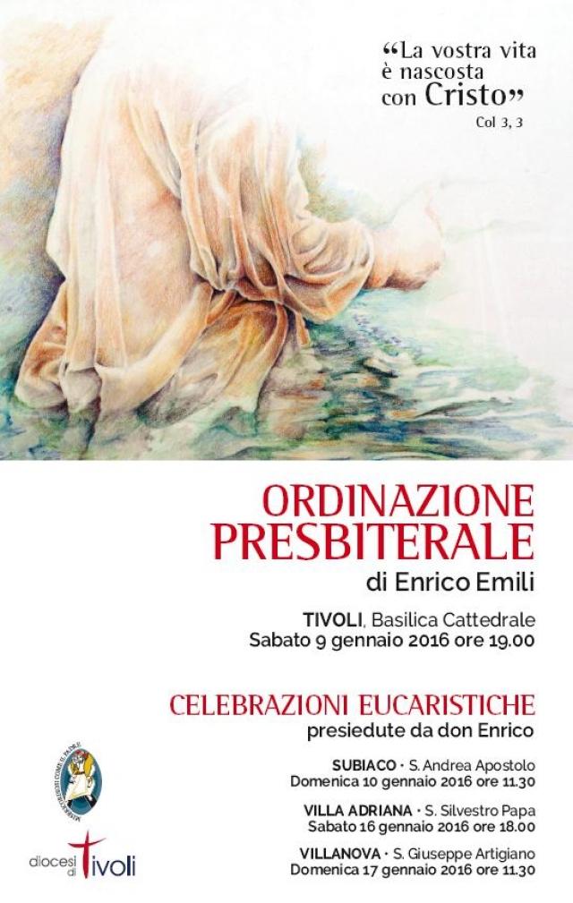 Ordinazione Presbiterale d Enrico