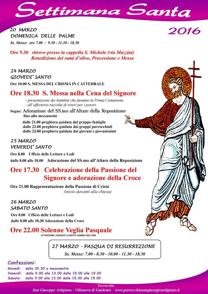 settimana santa villanova2016