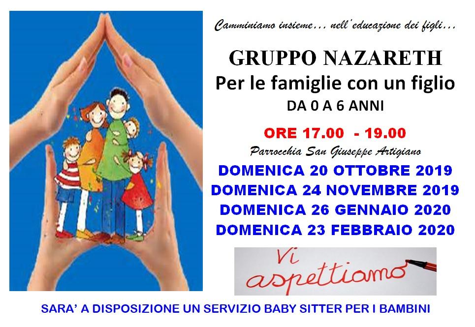Gruppo Nazareth 2019 2020