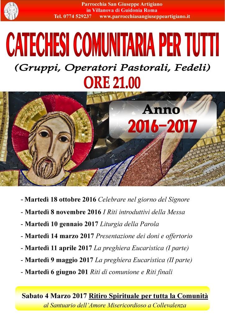 catechesi 2016-17