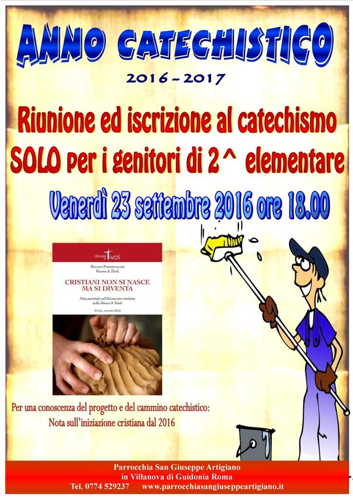 iscrizioni catechismo 2016