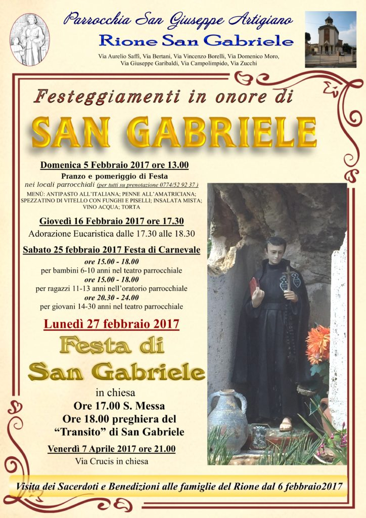Rione San Gabriele 2017