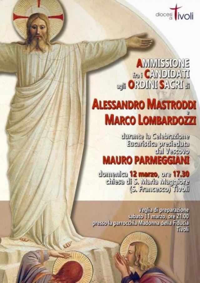 Ammissione agli Ordini Marco e Alessandro