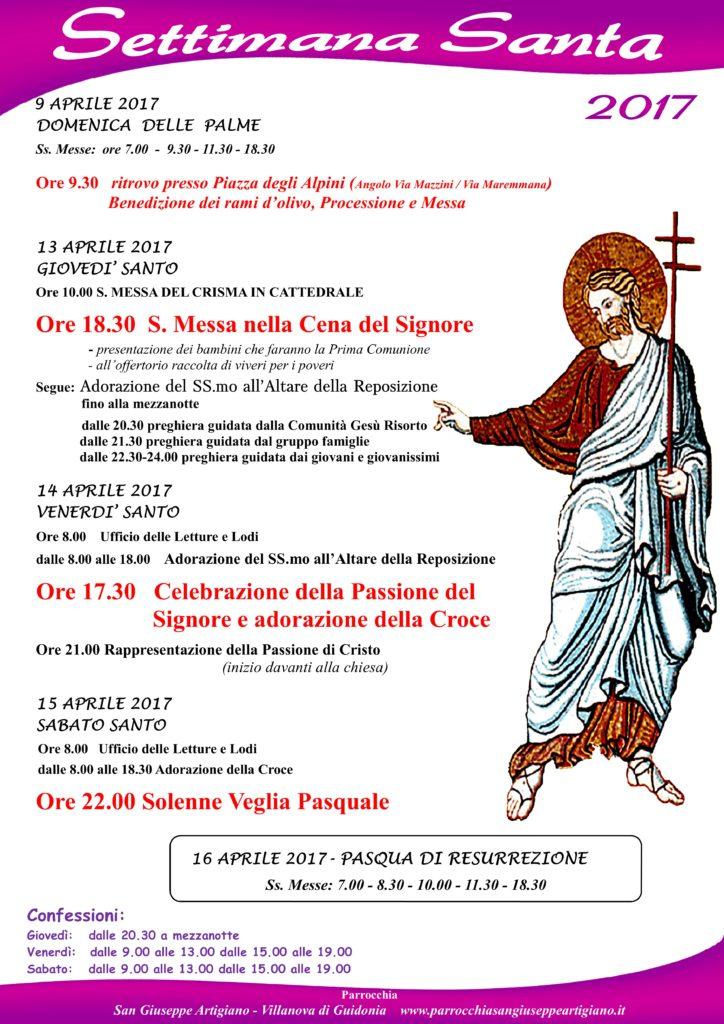 settimana santa villanova2017