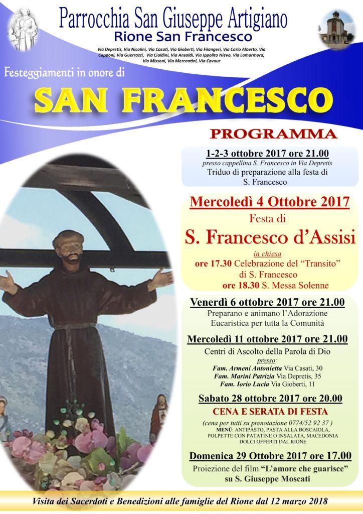 SAN FRANCESCO 2017