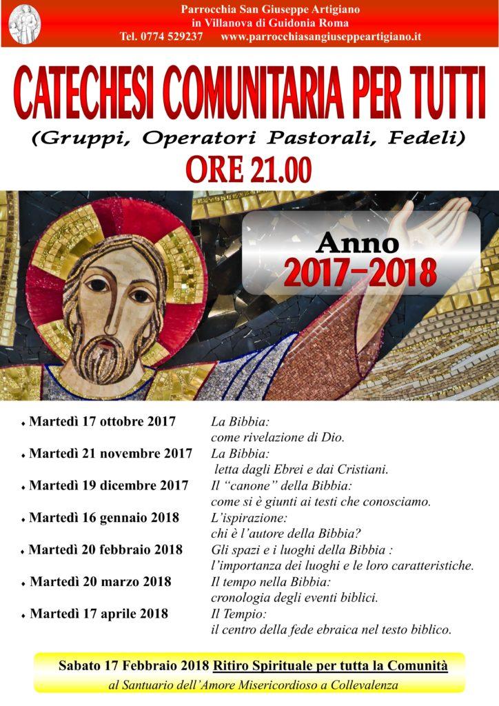 catechesi 2017-18