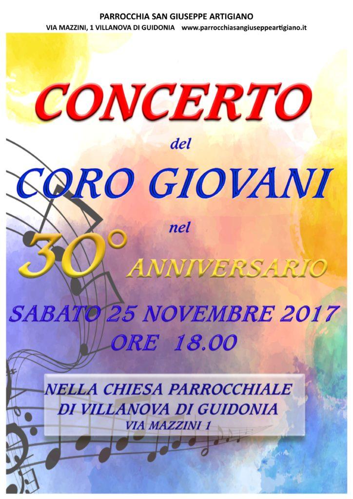 concerto 25 novembre