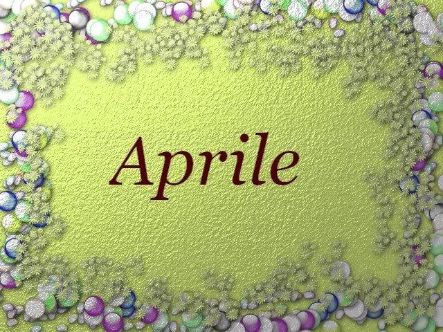 aprile immagine