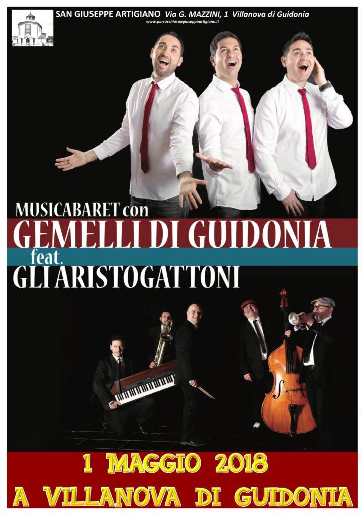 gemelli di Guiidonia a Villanova 2018