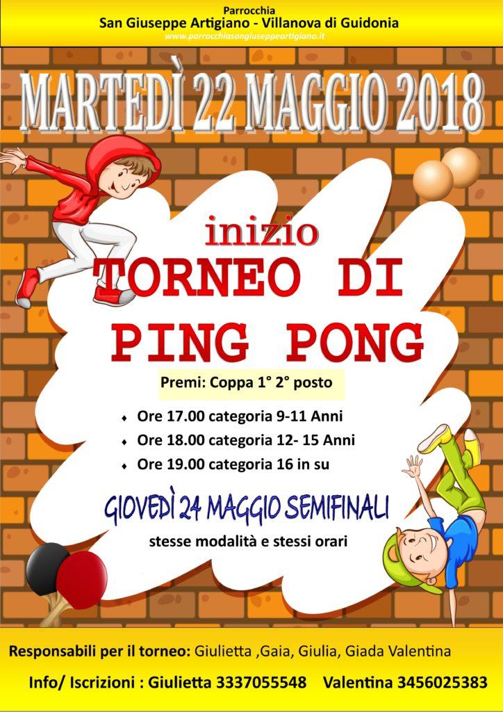 ping pong 2018