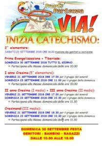 CATECHISMO SETTEMBRE 2018