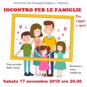 Gruppo famiglie 17 novembre 2018