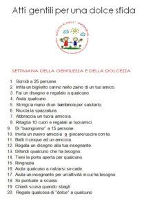 Atti gentili per la Festa di San Francesco di Sales 2019