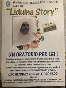 Oratorio Beata Liduina 26 gennaio 2019