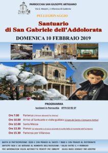 San Gabriele pellegrinaggio 2019