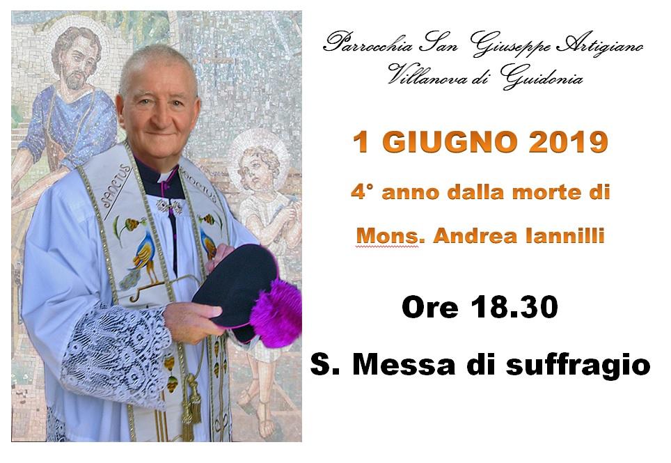 Anniversario morte Don Andrea Iannilli 2019