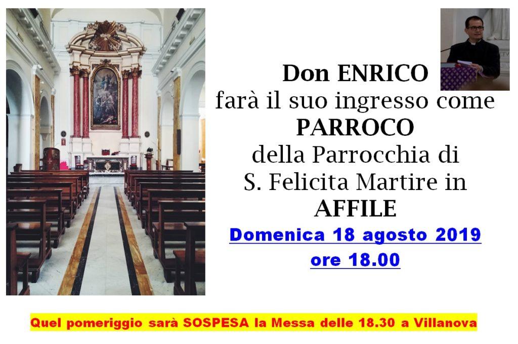 Ingresso Don Enrico AFFILE
