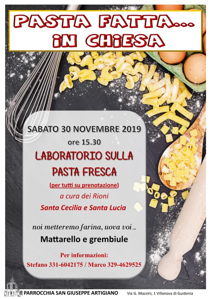 Pasta fatta in chiesa_2019
