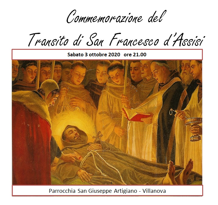 Transito San Francesco 2020
