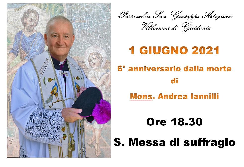 Anniversario morte Don Andrea Iannilli 2021